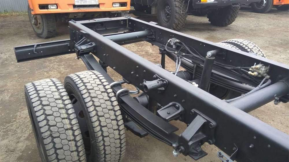 Задняя подвеска КамАЗ-4308
