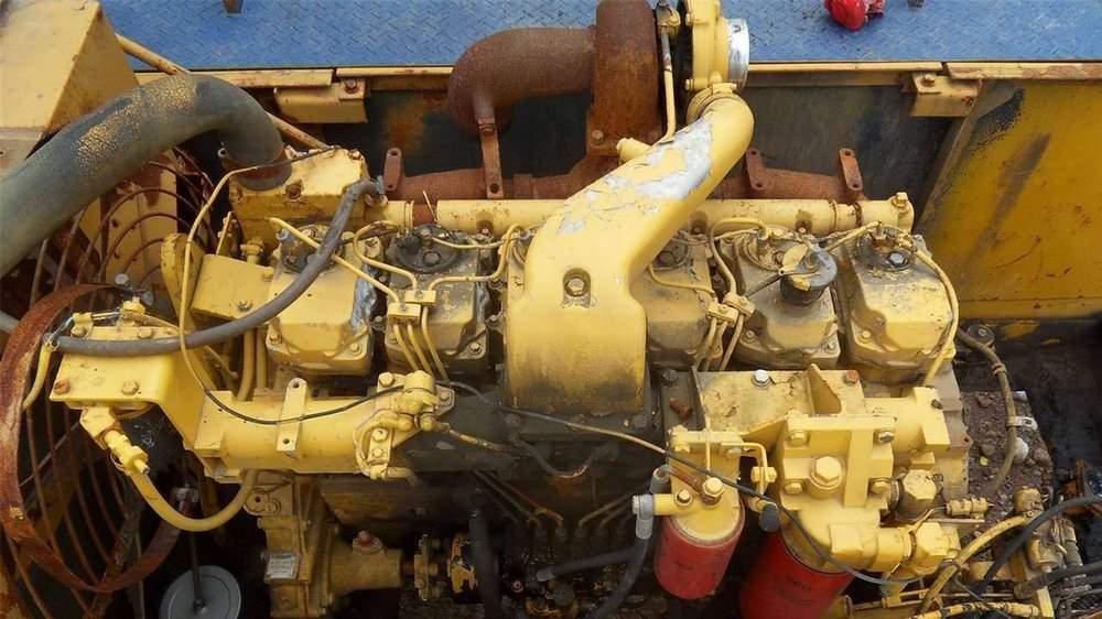 Мотор бульдозера Коматсу Д155А-5
