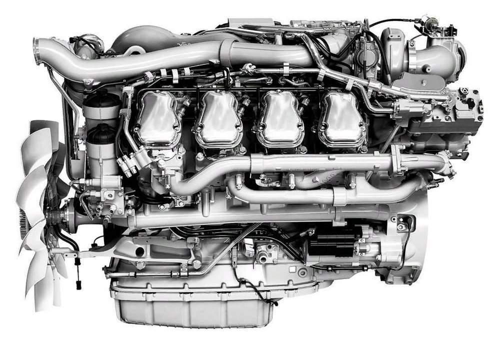 Фото двигателя DC16 21