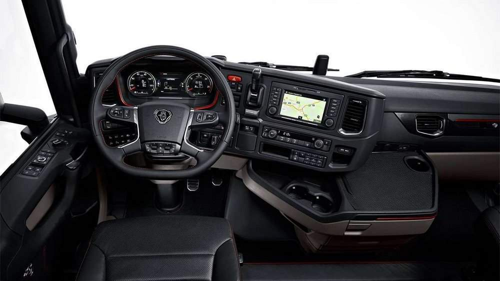 Фото салона Scania S730