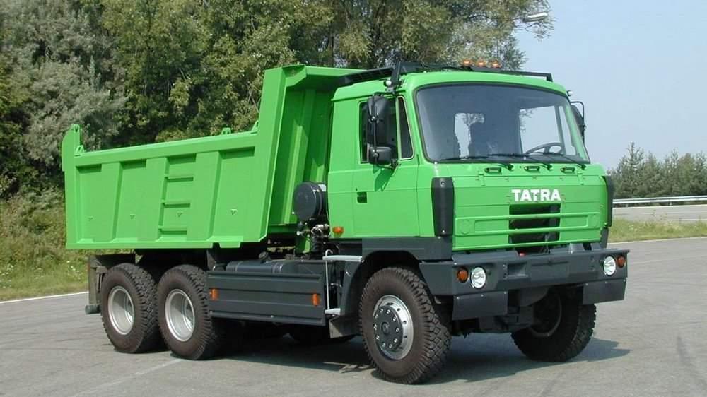 Зеленый Tatra T815