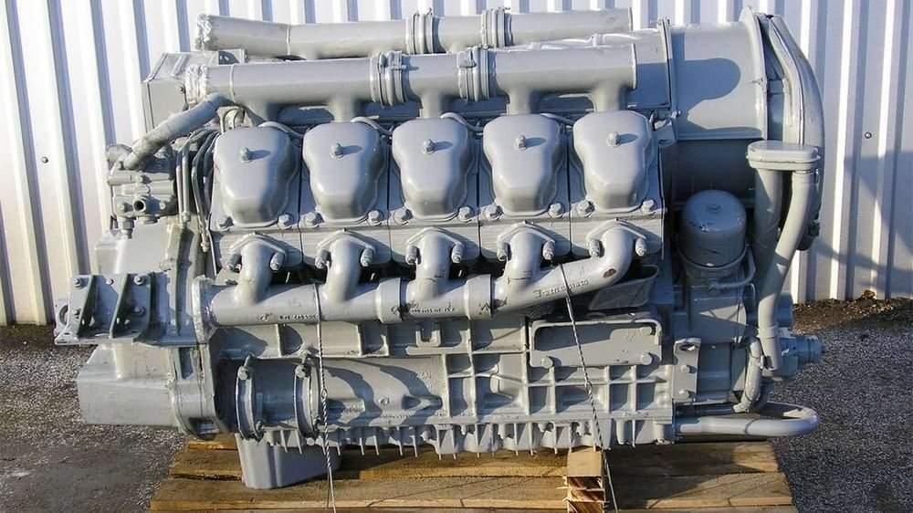 Фото двигателя Татра Т815