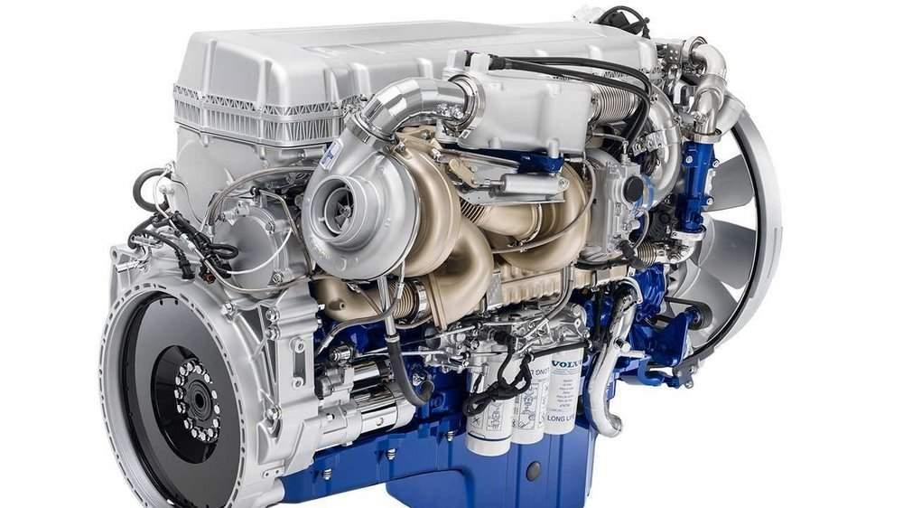 Мотор Volvo FH16