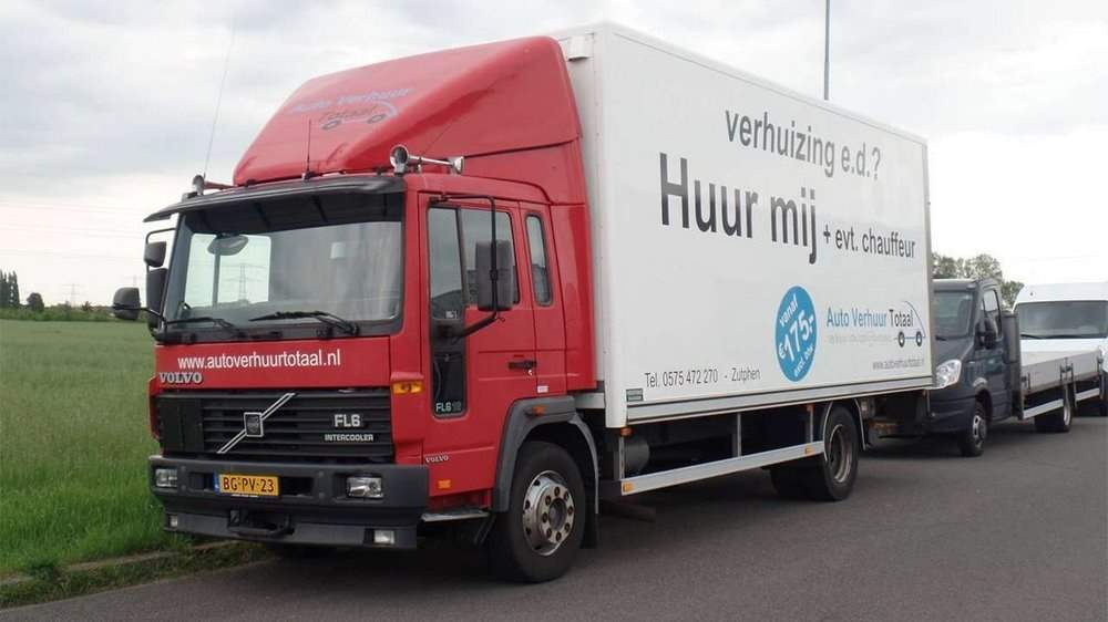 Фото грузовика Volvo FL6
